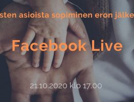 Facebook live tapahtuma