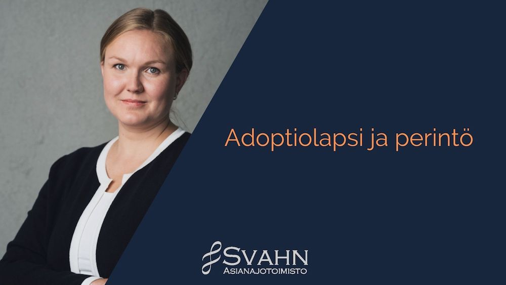 Adoptiolapsi ja perintö