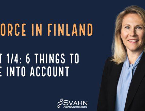 Divorce in Finland